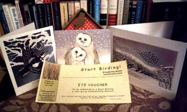 Start Birding Christmas gift voucher