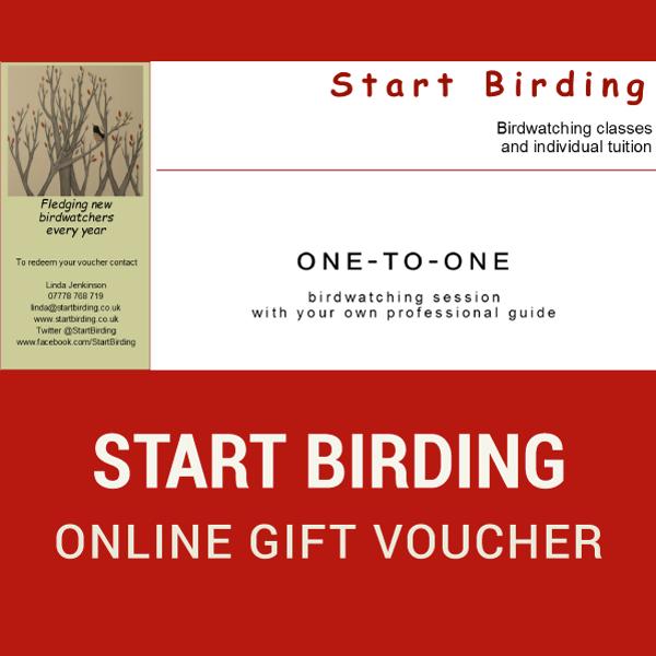 1-2-1 Start Birding Online Gift Voucher
